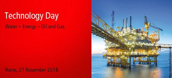 Beckhoff Technology Day Water - Energy - Oil and Gas